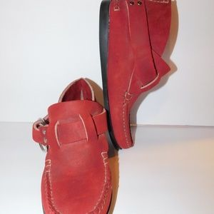 Vintage Quoddy Trail Moccasin Ring Boot